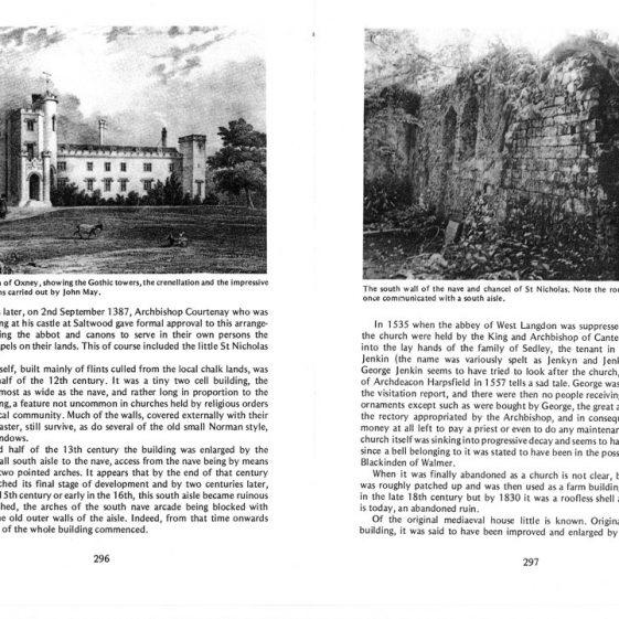 'More Lost Villages of Kent' by Ivan Green. 'Bygone Kent' vol 4 no 5  May 1983