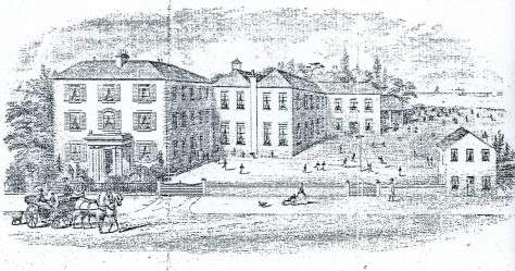 Cliffe House School at the time of James Temple senior  c1820