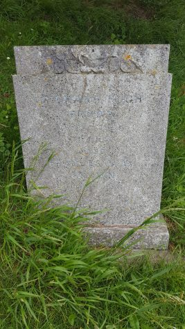 Gravestone of BROWN Richard Hugh 1975; BROWN Frances May 1996
