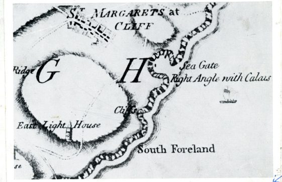 Maps of St Margaret's Bay 'Seagate', 1769  and 1906
