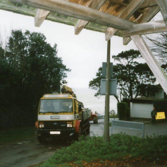Granville Flats, Hotel Road - work progresses. 1998/9
