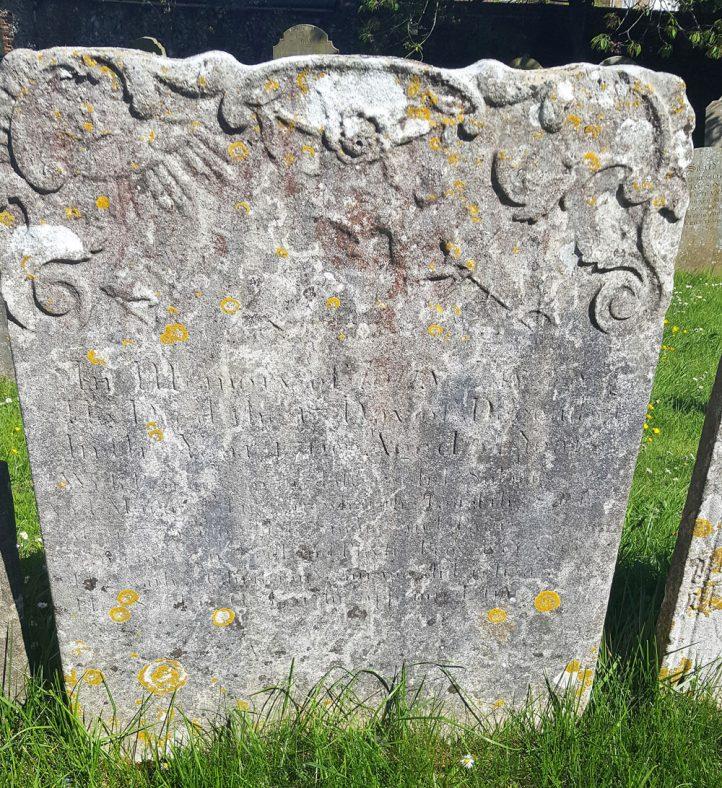 Gravestone of EASTES John 1769 | 2017