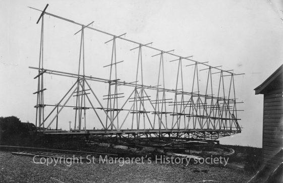 Marconi's Rotating Beam Transmitter, South Foreland Lighthouse. c1930