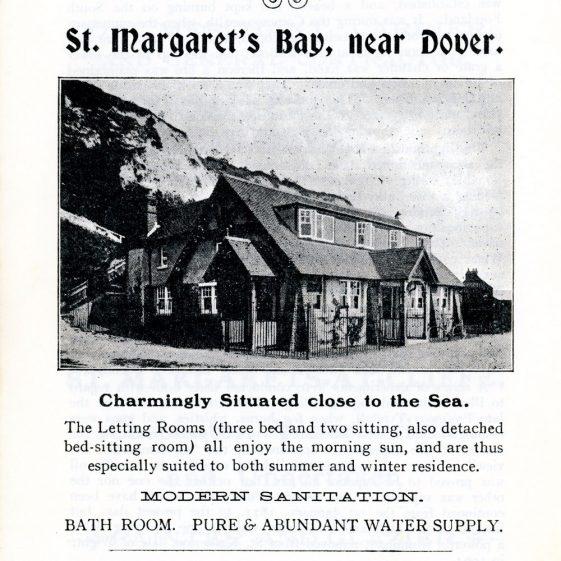 'St Margaret's Visitors Guide' by John Bavington Jones. 1907, pages 31 - 40