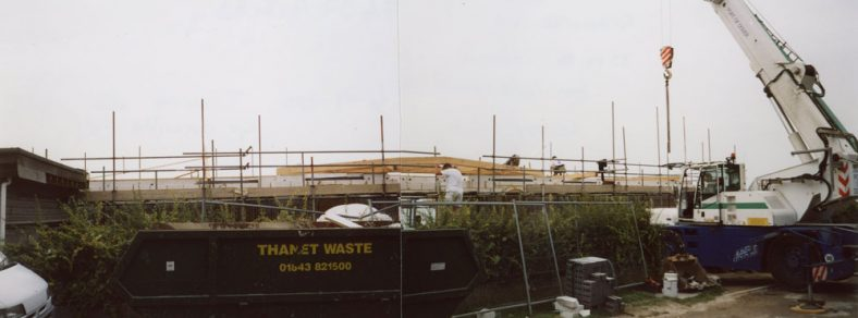 Building Number 67 on 'Tiroroa' site, Granville Road. 6th September 2005