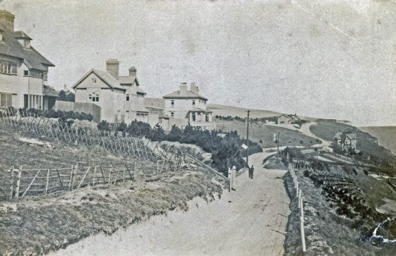 Looking down Bay Hill. c1900