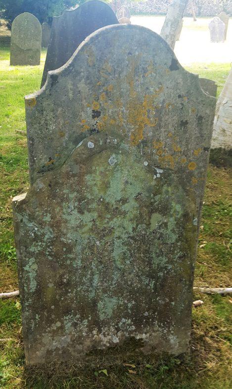 Gravestone of BEECHIN John Bartholemew 1849; BEECHIN Thomas James 1852; BEECHIN Alfred 1863; YOUNG Ann Catherine 1888   Dawn Sedgwick