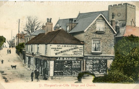 High Street and Madge's Stores. c1910