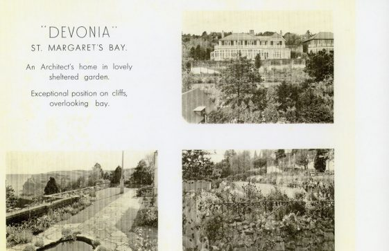Devonia, Granville Road. Sale by Auction 1927