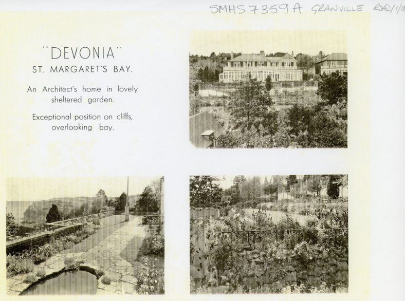 Devonia, Granville Road. Sale by Auction 1927