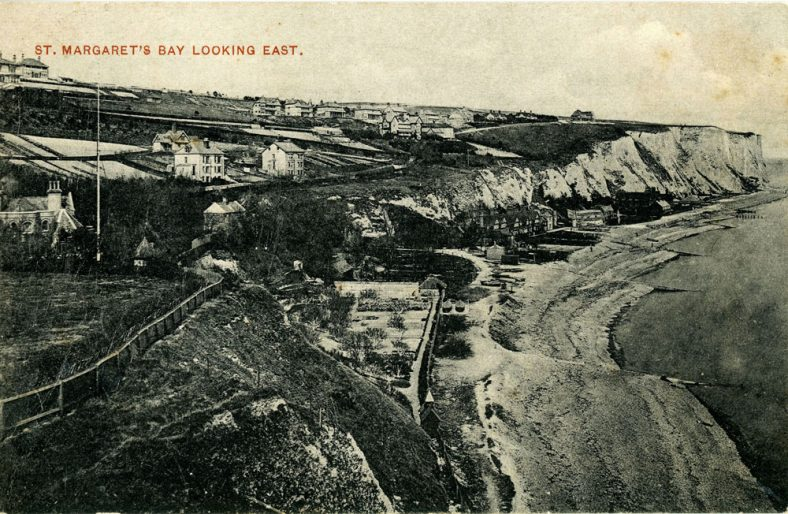 St Margaret's Bay from Ness Point. early 20th c