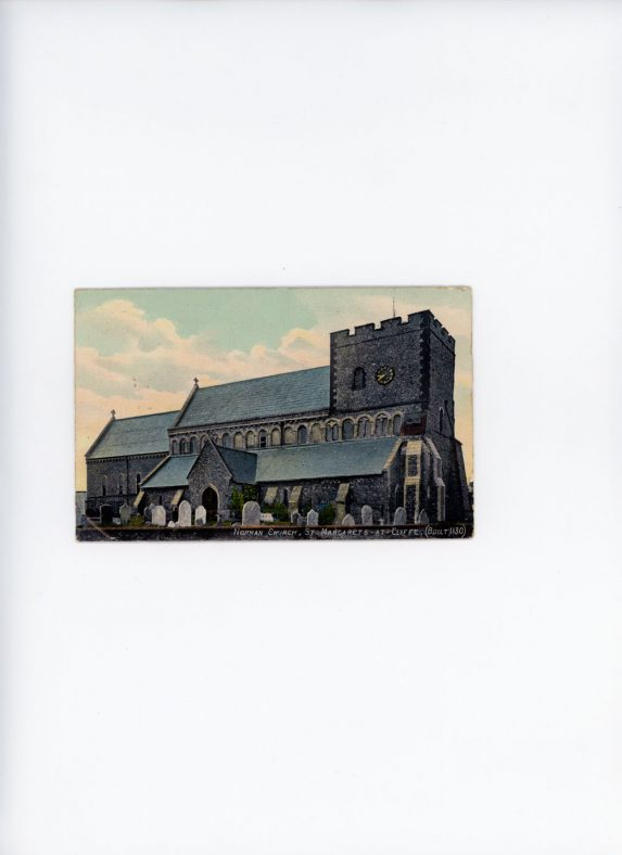St Margaret's Church from the north west. early 20th century.
