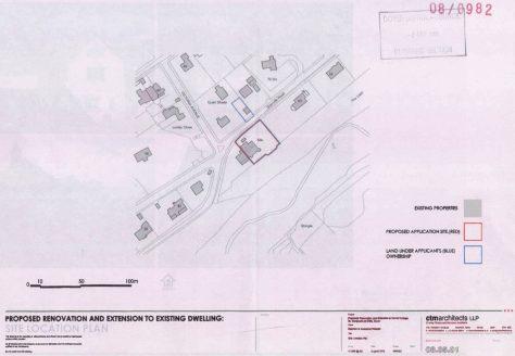 Corner Cottage Granville Road, Extension Planning Application. 3 September 2008