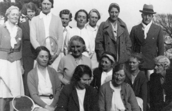 Village Badminton Group c.1946