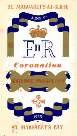Coronation of Elizabeth II. St Margaret's at Cliffe Souvenir Programme 1953