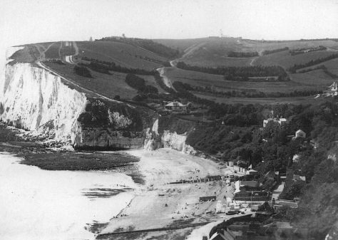 St Margaret's Bay from The Leas. c1925