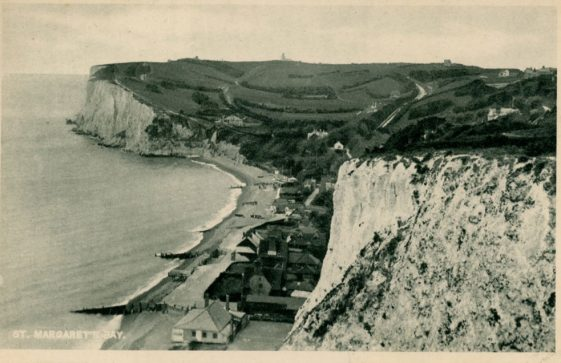 St Margaret's Bay from The Leas. c1930s