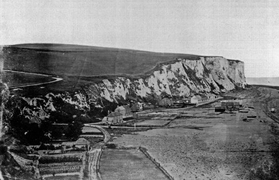 St Margaret's Bay from Ness Point. c1880