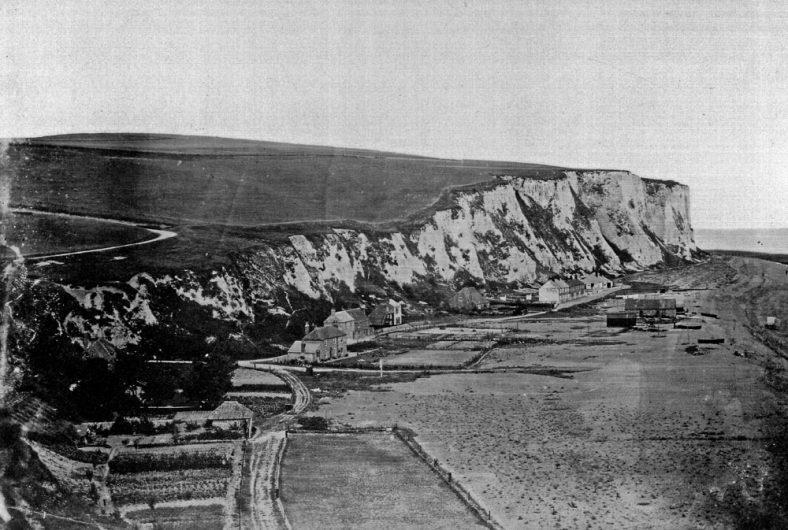 St Margaret's Bay from Ness Point. c.1880