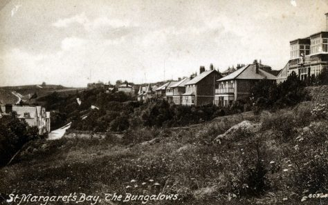 The Bungalows, Hotel Road and Granville Hotel. c1900
