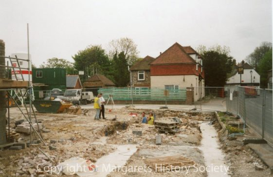 Site of former Knoll Garage, High Street.  7 May 2004.