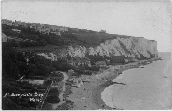 St Margaret's Bay from Ness Point. postmark 1905.