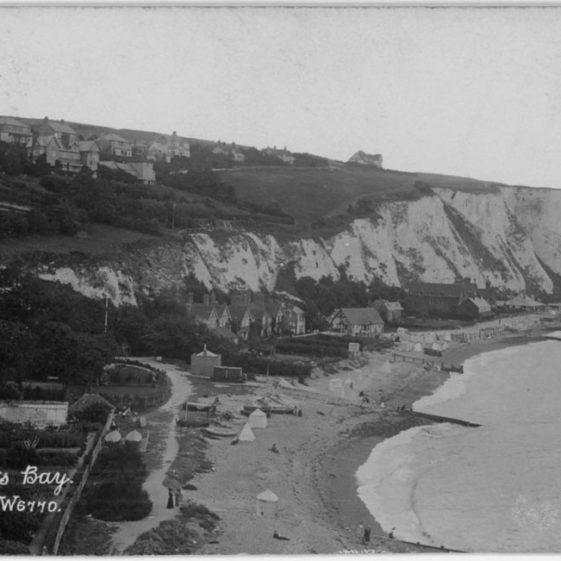 St Margaret's Bay from Ness Point. postmark 1905.