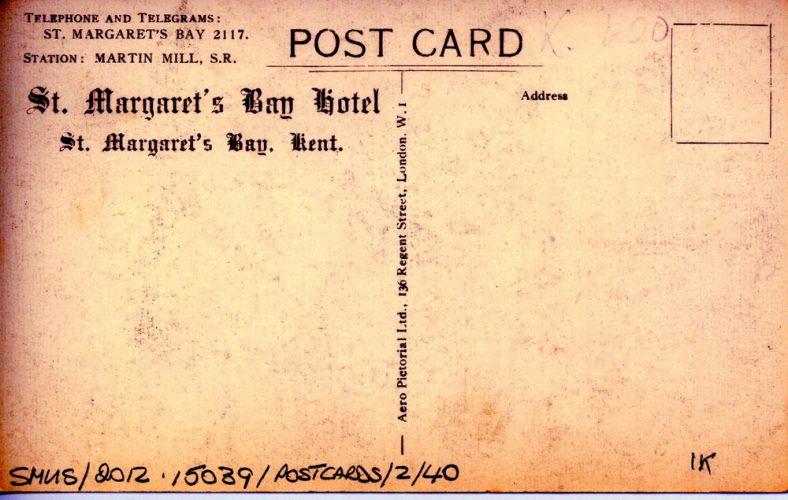 'St. Margaret's Bay Hotel' c.1938