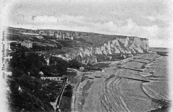 St Margaret's Bay from Ness Point. postmark 1908