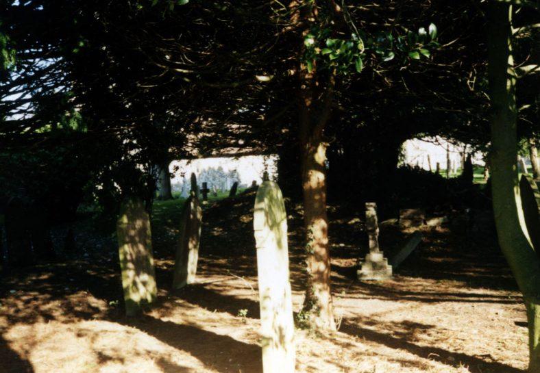 St Margaret's Churchyard. 10 February 2008