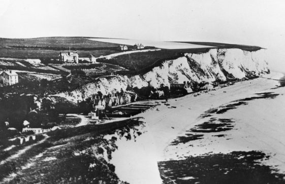 The Bay, The Leas and Leathercote Point from Ness Point. c1887
