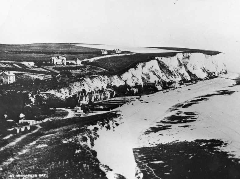 St Margaret's Bay from Ness Point. c1887