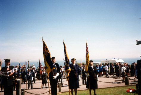 75th Dover Patrol Memorial Service. 1996
