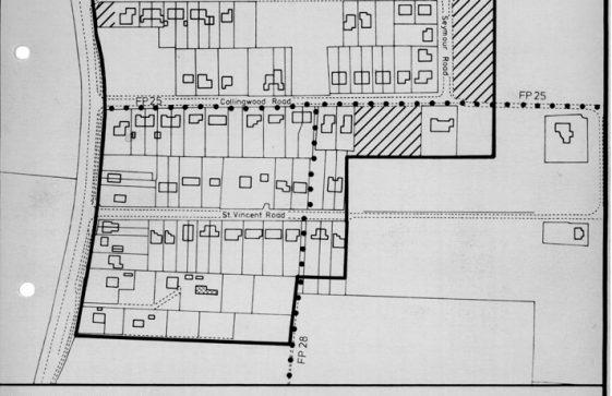 Plans for Nelson Park Estate. 11 March 1981