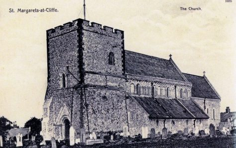 St Margaret's Church from the south west. Post 1869