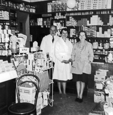 The Village Stores, High Street.  1960s