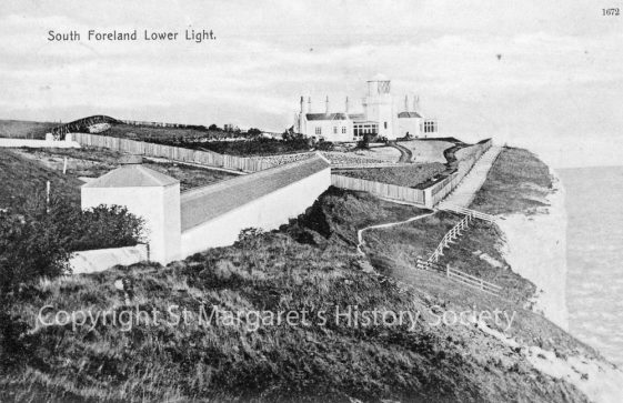 Lower South Foreland Lighthouse. c1906