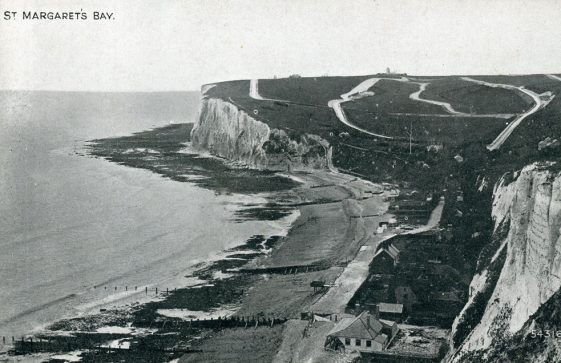 St Margaret's Bay from The Leas. late 19th century