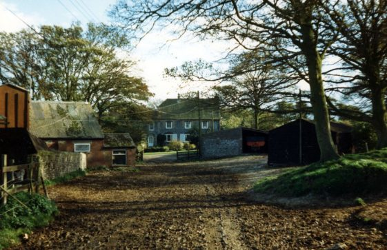 Bere Farmhouse and associated barns. 1986