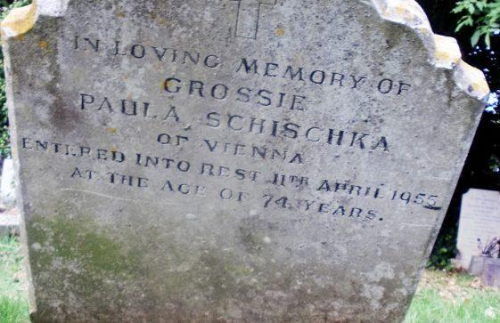 Gravestone of SCHISCHKA Paula 1955