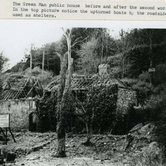 The Green Man St Margaret's Bay. pre and post WW2