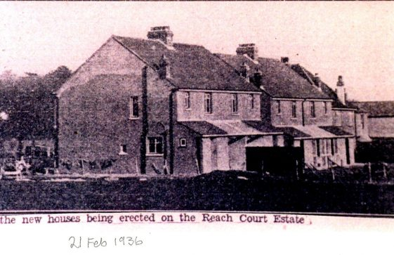 Houses on the Reach Court Estate. 21 February 1936