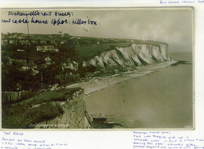 St Margaret's Bay from Ness Point. 1929