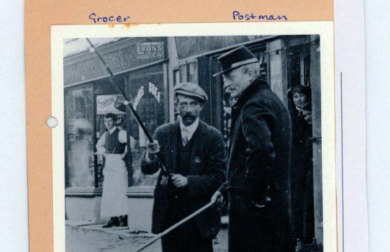 Thomas Nobbs, Postman 1910