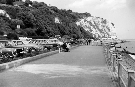 Car parking in the Bay. Early 1970s