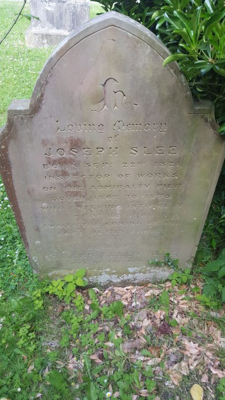 Gravestone of SLEE Joseph 1901; SLEE Susan Ellen 1920 | Dawn Sedgwick