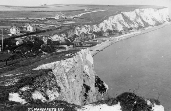 St Margaret's Bay from Ness Point. pre 1899