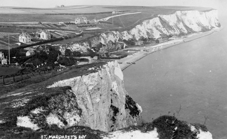 St Margaret's Bay from Ness Point. pre-1899
