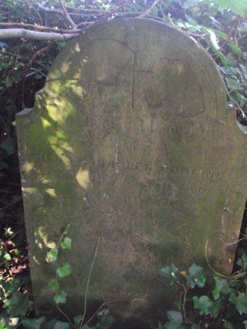 Gravestone of CURLING Henry Charles 1900