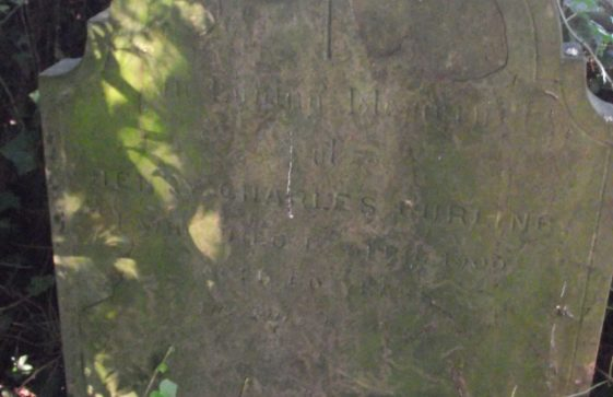 Gravestone of CURLING Henry Charles 1900